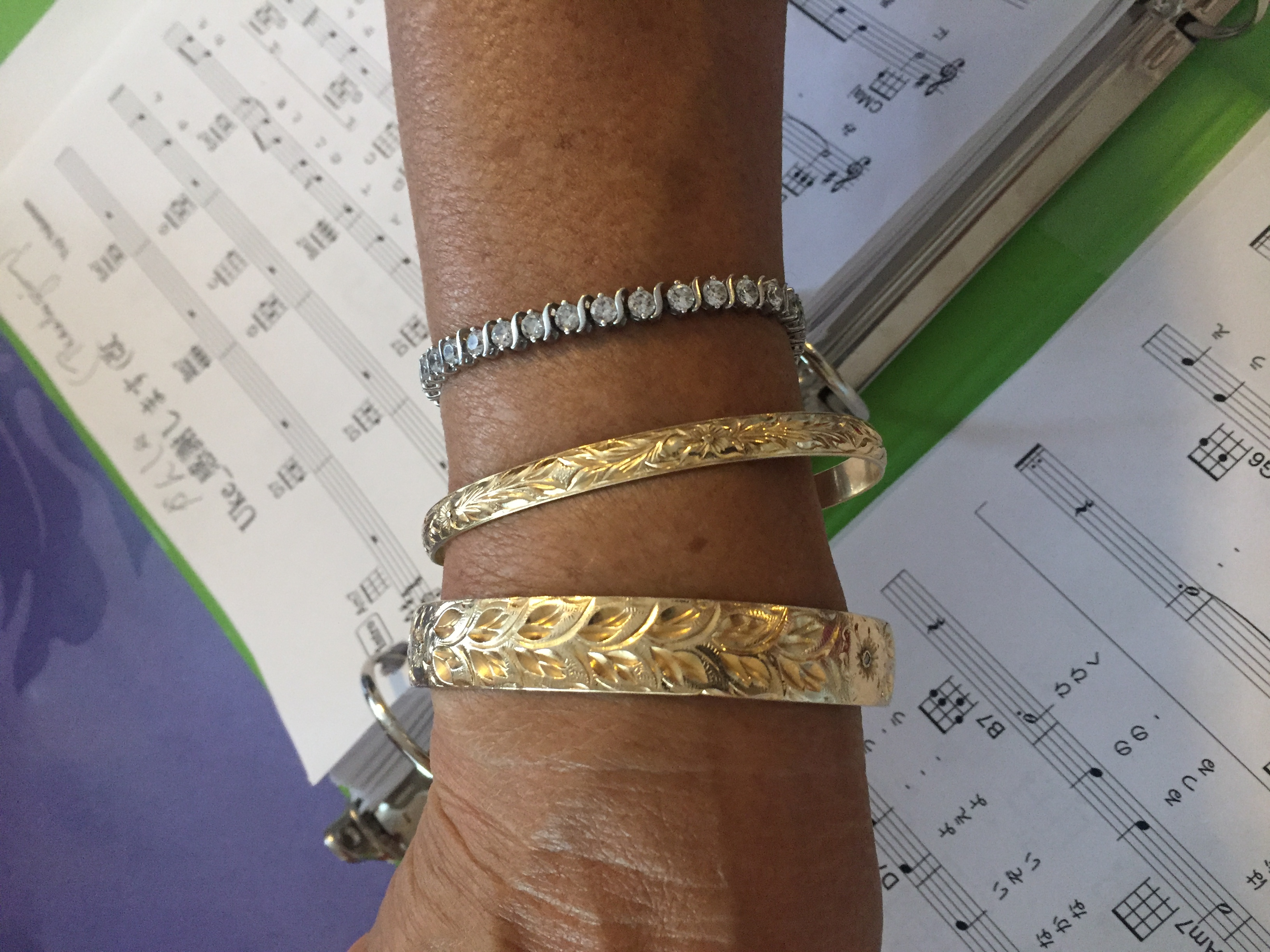 40years old bangle